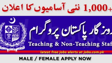 Photo of Rozgar Pakistan Program for 1000+ Vacancies in March 2020